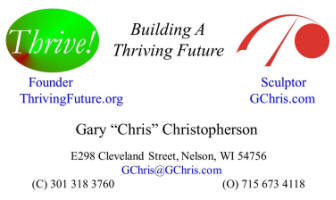 Thrive! Business Card